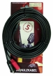Schulz-Kabel RCA 33 - mały jack stereo 3,5mm-2 x RCA, 6m